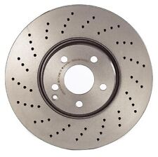 For MB W211 S211 W220 Front Left or Right Brake Disc Rotor Drilled 330mm Brembo