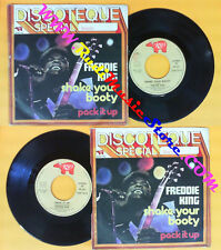 LP 45 7'' FREDDIE KING Shake your booty Pack it up 1974 italy RSO no cd mc dvd *