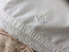 Baby Items Embroidery Antique Linens