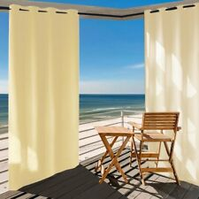 Outdoor Curtain Panel for Patio 50x96Inch Grommets UV Ray Protected Waterproof