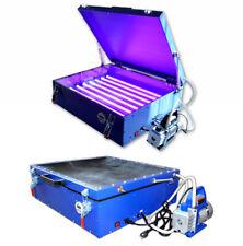 196x236 Vacuum Exposure Unit Screen Printing Plate Making Machine Led Light
