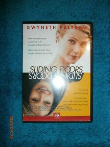 Sliding Doors (DVD) 1998 comedy fantasy Gwyneth Paltrow, John Hannah, John Lynch