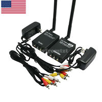 3W Wireless Video Transmitter Receiver Monitor Wireless Long Distance TX RX US