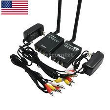 3W Wireless Video Transmitter Receiver Monitor Wireless Long Distance TX RX US