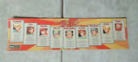 original FIGHTER'S HISTORY DATA EAST  sticker ARCADE GAME ART