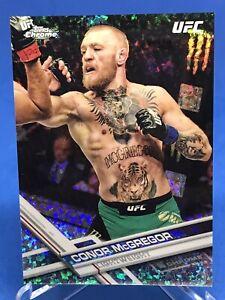 Conor McGregor 2017 Topps Chrome UFC Hot Box Diamond Refractor