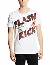 Short Sleeve Graphic Tee Retro Solid T-Shirts for Men