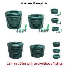 15m 30m 50m 75m 100m Garden Hose Pipe Reel Reinforced Outdoor Hosepipe