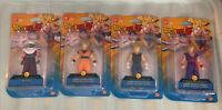 DRAGON BALL Z Soft Figures Piccolo Super Saiyan Goku Vegeta Gohan (set Of 4)
