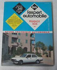 """Revue technique L'EXPERT AUTOMOBILE n° 245 1987 Peugeot 505 """"86"""""""