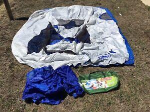 Coleman Sundome 3-Person Dome Tent (Missing All Fiberglass Poles)