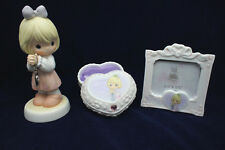 """Precious Moments """"There's Always A Place In My Heart..."""" 3-Pc Boxed Set NIB"""