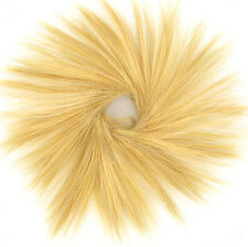 Hair Extension Scrunchie light golden blond 21 in lg26 peruk
