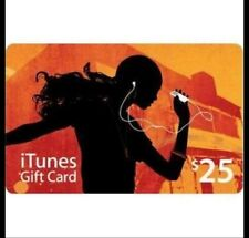 Authentic U$25 Apple iTunes US gift card - LIMITED STOCK