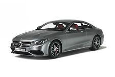Mercedes-Benz S63 AMG S-Class Coupé C217 Palladium Silver 2014 GT SPIRIT GT063