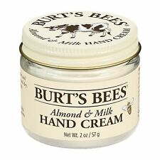 2oz Burt's Bees Hand Creme Almond Milk Beeswax Moiturizes and Nourishes Dry Skin