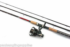Shakespeare Omni Float / Match 10 ft Fishing Rod + Beta Rear Drag Reel with Line