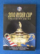Ryder Cup 2010-Celtic Manor-Spectateur Guide