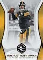 2018 Panini Limited #82 Ben Roethlisberger NM-MT Steelers  ID:14836