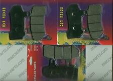 Disc Brake Pads for the Harley FLHT 2007-2014 Front & Rear (3 sets)
