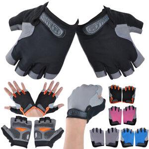 Fahrradhandschuhe Sommer Sport Fingerlose Handschuhe Herren Damen Mountainbike