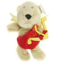 "2001 Starbucks 13th Edition Bearista Bear Collection CUPID 10"" Stuffed Plush"