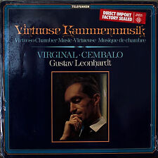 VIRTUOSO CHAMBER MUSIC-SEALED1966LP GERMAN IMP LEONHARDT, Harpsichord