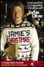 BNIB JAMIE'S CHRISTMAS DVD INCLUDES 12 RECIPE CARDS