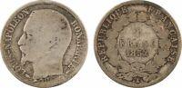 IIe République, 1 Franc Louis-Napoléon Bonaparte (LNB), 1852 Paris, argent - 83