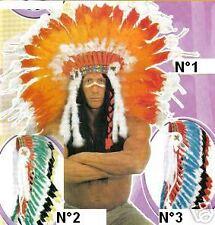 1 Coiffe Indien adulte LUXE GRAND CHEF DEGUISEMENT 3288 PAS LE CHOIX chapeau