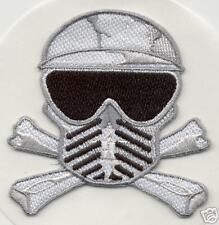 PAINTBALL SKULL & CROSSBONES PATCH Sticker spyder