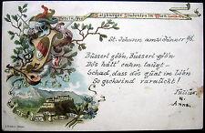 AUSTRIA~OESTERREICH~1898 VEREIN DER SALZBURGER STUDENTEN IN WIEN ~ SALZBURG WIEN