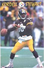 1998 Kordell Stewart Pittsburgh Steelers Original Starline Poster OOP