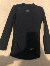 Boys Black Reebok liner Long Sleeve Shirt Size Medium