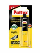 Pattex ADHESIVE FIXER LEATHER BEST SHOE REPAIR GLUE SOLE BOOTS HEEL RUBBER 15g