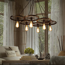 Large Chandelier Lighting Rustic Pendant Light Living Room Modern Ceiling Lights