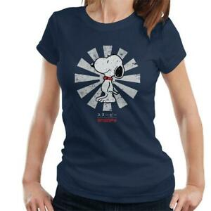 Snoopy Retro Japanese Women's T-Shirt