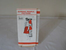 "VINTAGE ""SUNDAY PEOPLE"" SEWING PATTERN N0.441 BLOUSE & SKIRTS TO FIT  BUST 38."