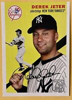 2021 Topps Series 1 Baseball Derek Jeter 70 Years of Topps 1954 Yankees #70YT-4
