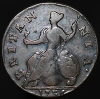 1736 | George II Half-Penny | Copper | Coins | KM Coins