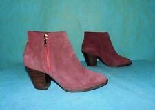 bottines boots MELLOW YELOW en daim bordeaux p 36 fr