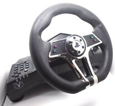 Sony Playstation 4 ps4 ps3 steering wheel and Pedals presque & FREE P + P