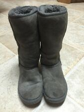Ugg Australia Women's Classic Tall Boots Color Grey Sz 7 Preowned