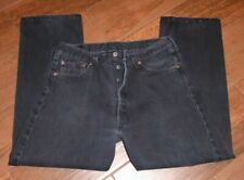 Vintage Men's black LEVIS 501 jeans button fly made in usa 36 x 30 (34x28)