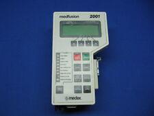 Medfusion 2001 Syringe Pump Certified with Warranty