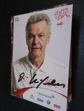 60116 Ottmar Hitzfeld Schweiz original signierte Autogrammkarte
