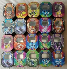 Collection of 20 Empty Pokemon GX Collectors Tins - no Cards included