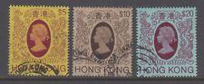 Hong Kong China Scott 378//402 VF Used 1982 Elizabeth II Definitives to $20