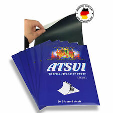 20 x ATSUI ORIGINAL Thermo Papier TATTOO PAPER MATRITZENPAPIER OVP TOP NEU