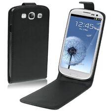 Flipcase Case Black für Samsung Galaxy S3 GT I9300 Vertikal Schutz Tasche